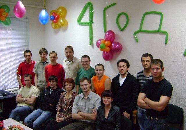 Proweb исполнилось 4 года!