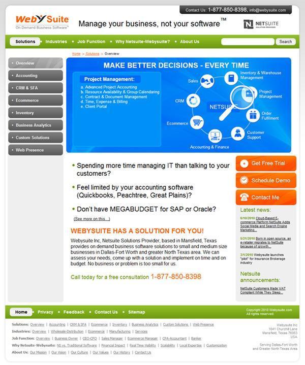 Корпоративный сайт WebySuite